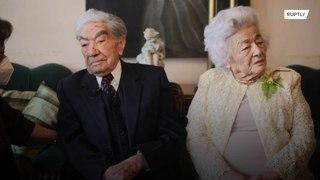 تعرفوا إلى أطول زواج في العالم !!!