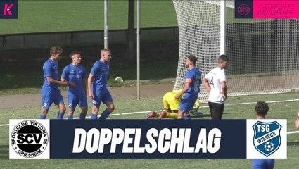 Spielentscheidende Doppelspitze| SC Viktoria Griesheim U19 – TSG Wieseck U19 (A-Junioren-Hessenliga)