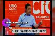 Video Luis Arce Catacora acepta que el Movimiento al Socialismo hizo fraude en Bolivia