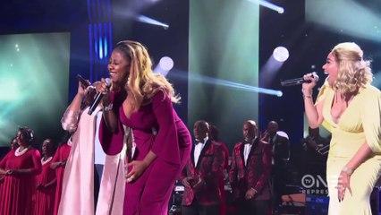 Tasha Page-Lockhart + Le'Andria Johnson + KeKe Wyatt - Now Behold The Lamb + God Provides + Take Me To the King - Stellar Awards Tribute to Tamela Mann - 2018