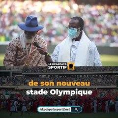 Inauguration du stade olympique Alassane Ouattara