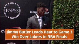 Jimmy Butler During The NBA Finals