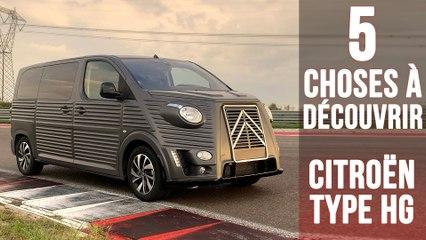 Le Type HG, 5 choses à savoir sur la transformation du Citroën SpaceTourer