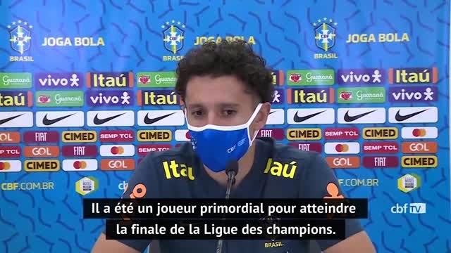 Brésil - Marquinhos encense Neymar et Thiago Silva