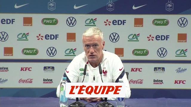 Olivier Giroud titulaire contre l'Ukraine - Foot - Bleus
