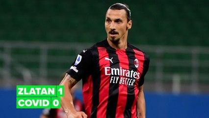 Zlatan Ibrahimović bewijst dat hij Covid vanuit huis verslaat