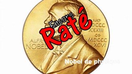 Le prix Nobel de physique est attribué à...