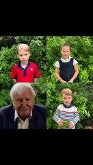 I baby di Cambridge innamorati della natura: le domande di George, Charlotte e Louis all'esperto Attenborough