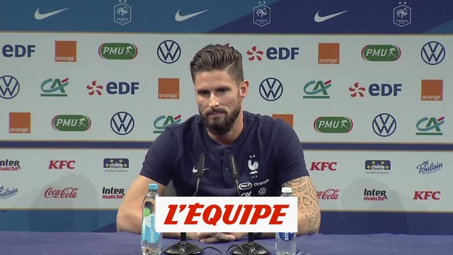 Giroud : «Encore de belles années devant moi» - Foot - Bleus