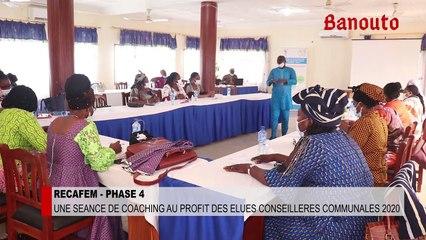 Porto-Novo : le programme RECAFEM 4 forme des femmes élues conseillères du Bénin