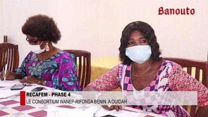 RECAFEM 4 : Renforcement de capacité des femmes élues conseillères à Ouidah