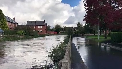 Flooding in Croston