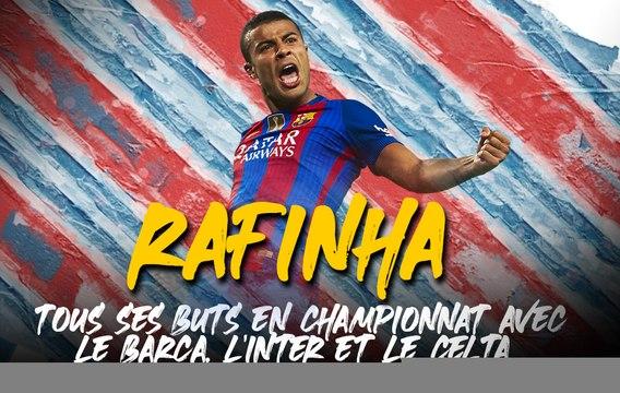 Tous les buts de Rafinha, la dernière recrue du PSG
