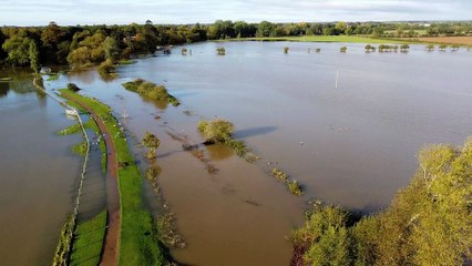 Ouse Valley Park Flooding October 2020