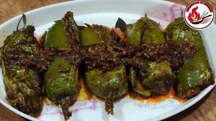 Mirch ki sabji, Mirch, Recipe, Mirch recipe, Mirch recipe food fusion, Mirchi recipe in marathi, Mirchi recipe madhura, Mirchi recipe, Mirchi recipe food fusion, Mirchi recipes indian, Mirchi recipe by ruby ka kitchan,, Hyderabad, Mirch