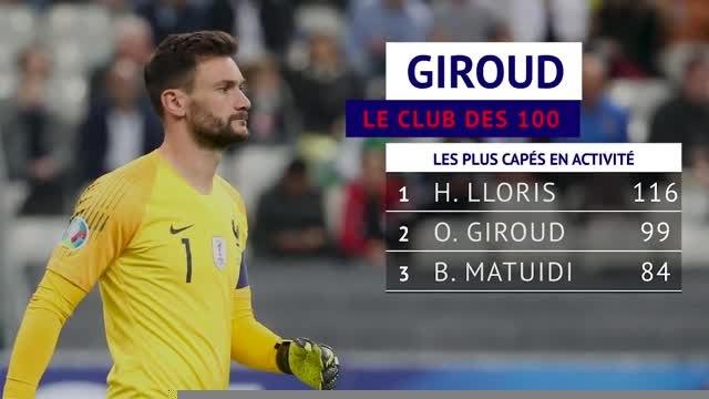 France - Giroud, le club des 100