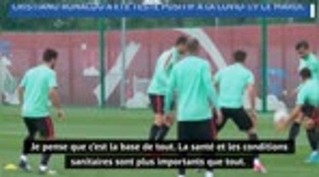 "Football - Xavier : ""Le football ne peut pas s'arrêter"""