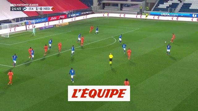 Les buts d'Italie-Pays-Bas - Foot - Ligue des nations