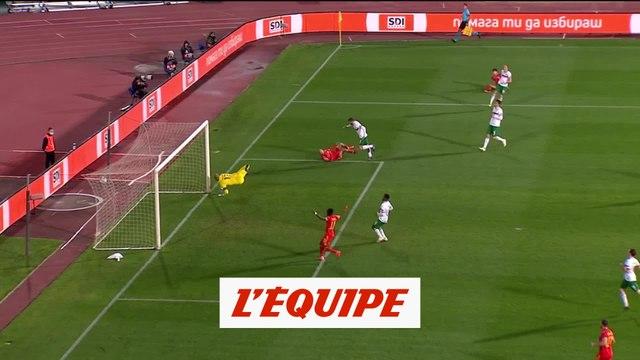 Le but de Bulgarie - Pays de Galles - Foot - Ligue des nations