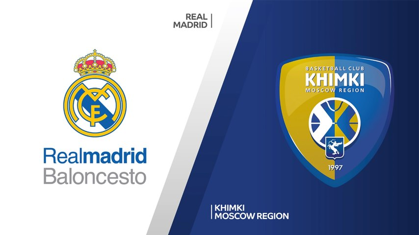Real Madrid - Khimki Moscow Region Highlights | Turkish Airlines EuroLeague, RS Round 3