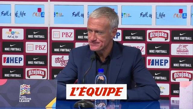 Deschamps : «Très fier de ce qu'ont réalisé les joueurs» - Foot - Bleus