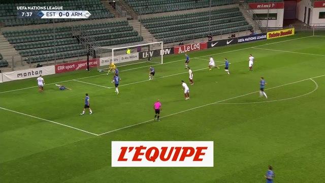 Tous les buts du mercredi 14 octobre - Foot - Ligue des nations