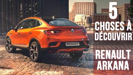 Renault Arkana, 5 choses à savoir sur le surprenant SUV Coupé hybride
