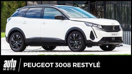 Essai nouveau Peugeot 3008 (2020) : belle calandre