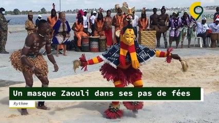 Rythme   Un masque Zaouli dans ses pas de féés