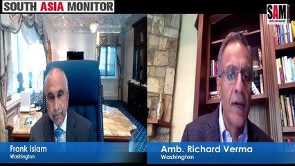 Frank Islam in conversation with Amb Richard Verma (retd) | Washington Calling