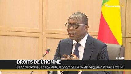Bénin: le rapport de la CBDH sur le droit de l'homme, reçu par Talon