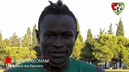 Journées FIFA octobre 2020 :  Le capitaine des Eperviers Dakonam  se prononce sur les préparatifs à Tunis