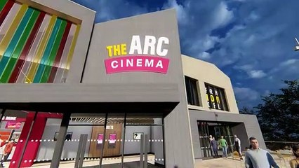 How the new Arc Cinema in Daventry will look