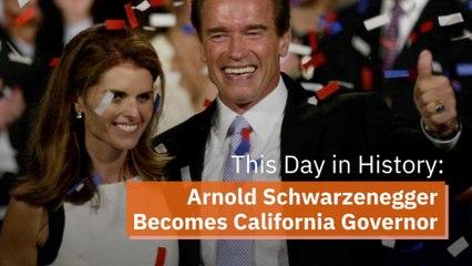 The Day Arnold Schwarzenegger Became Governor