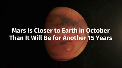 Mars Is Getting Closer