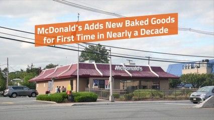 McDonalds Adds Pastries