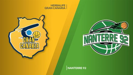 7Days EuroCup Highlights Regular Season, Round 2: Gran Canaria 94-82 Nanterre