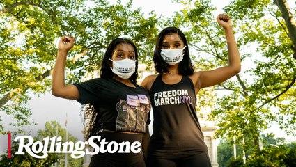 Youth Organizers: Nialah Edari and Chelsea Miller of Freedom March NYC