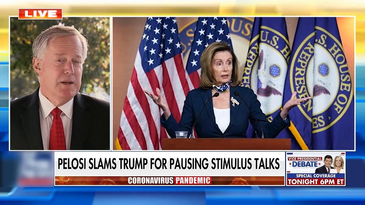 #NEWS| White House blames Pelosi for stalled coronavirus talks