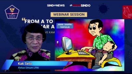 Webinar Session ; From A To Z Dongkrak Motivasi Belajar Anak Selama Pandemi