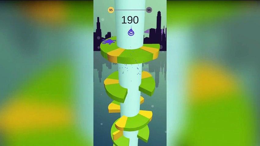 Mobile Game #8 | Best Gaming Videos | Helix Jump | VOODOO