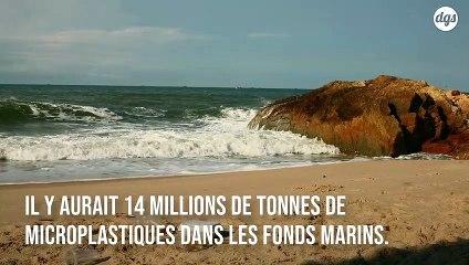 14 millions de tonnes de microplastiques polluent le fond des océans, selon une étude