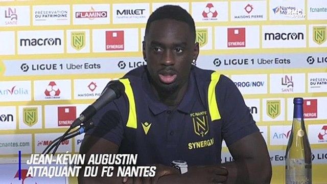 """Nantes : """"J'ai fait beaucoup d'erreur et j'ai appris"""" reconnaît Augustin"""