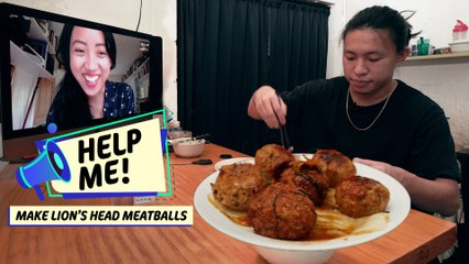 Quarantine Cooking: How to Make Chinese Lion's Head Meatballs