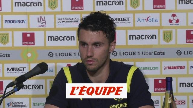 Corchia : « Je voulais revenir en France » - Foot - L1 - Nantes