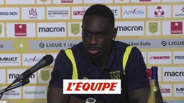 Augustin : « J'étais jeune, j'ai fait beaucoup d'erreurs » - Foot - L1 - Nantes