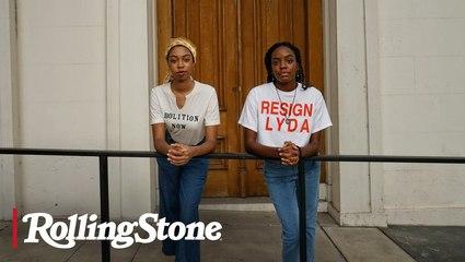 Youth Organizers: Brianna Chandler & Khalea Edwards