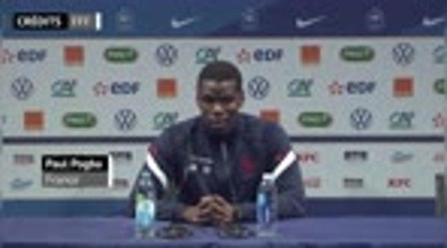 """Bleus - Pogba : """"Je suis juste un homme heureux"""""""