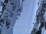 Extreme sports - skiing, snowboarding