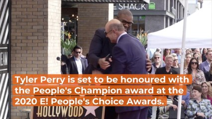 Tyler Perry Gets People's Champion Award
